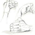 Skizze Hand_bear